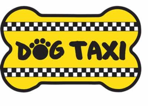 Dog Speak Dog Taxi Magnet