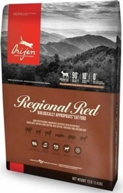 Orijen Grain Free Regional Red Cat Food