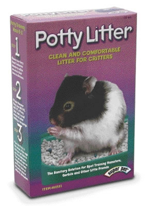 Crittertrail Out House Potty Litter