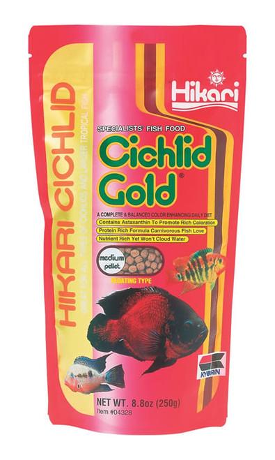 Hikari Cichlid Gold Medium, 8.8 Ounce
