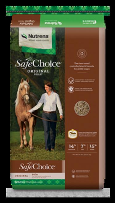 Nutrena Safe Choice Original Horse Feed, 50 Lbs.