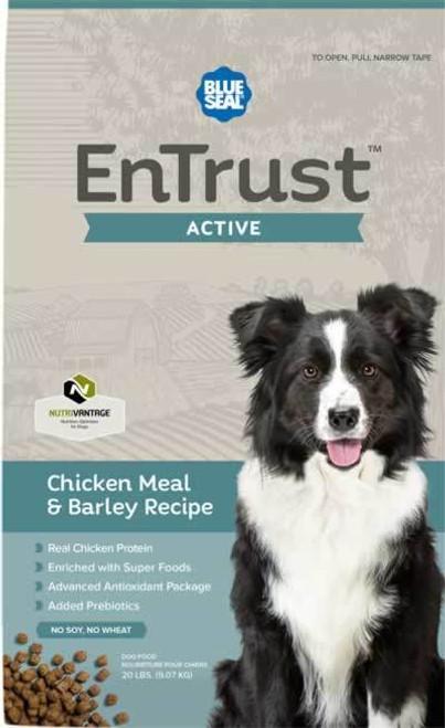 Blue Seal EnTrust Active Chicken Meal & Barley Dog Food