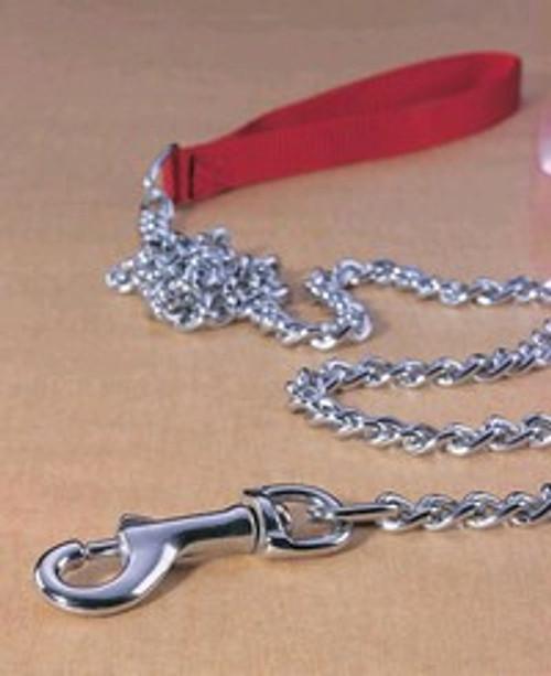 Hamilton Fine Chain Lead With Nylon Handle, 4'