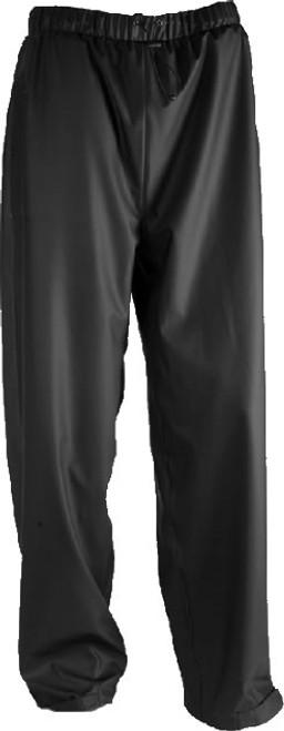 Tingley Stormflex Black Lightweight Rain Pants, Extra, Extra Large