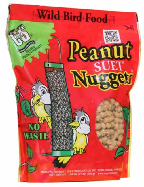 C&S Peanut Suet Nuggets 27 Oz.