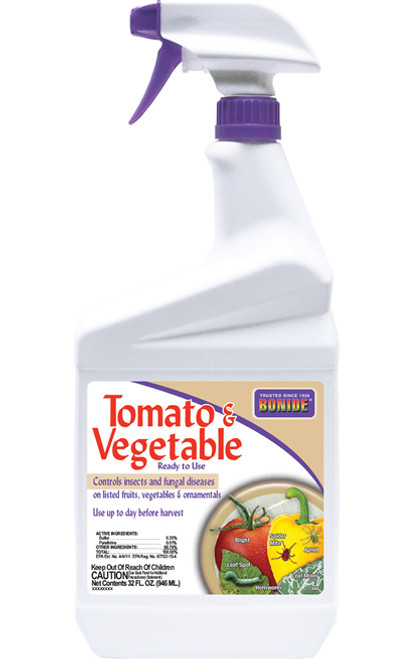 Bonide Tomato & Vegetable 3 In 1 RTU Quart