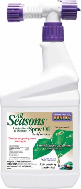 Bonide All Seasons Horticultural Spray Oil RTS 32 Ounces