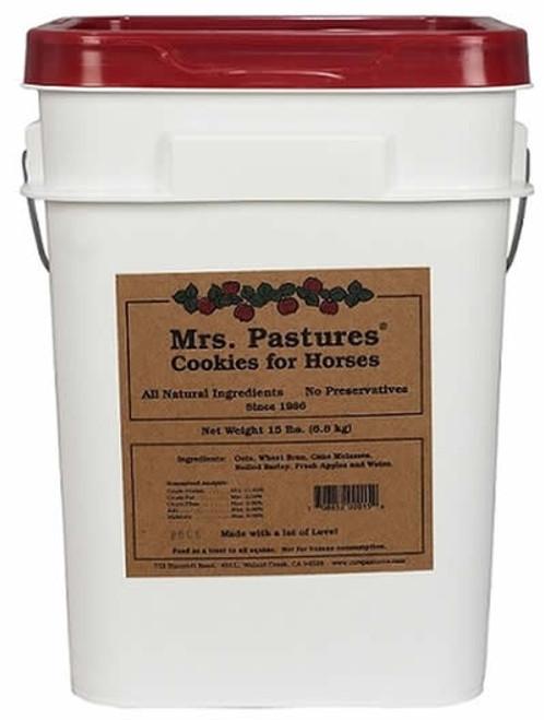 Mrs. Pastures Cookies Horse Treats, 15 Pounds