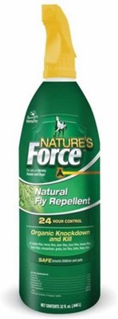 Manna Pro Natures Force Organic Natural Fly Repellent for Horses
