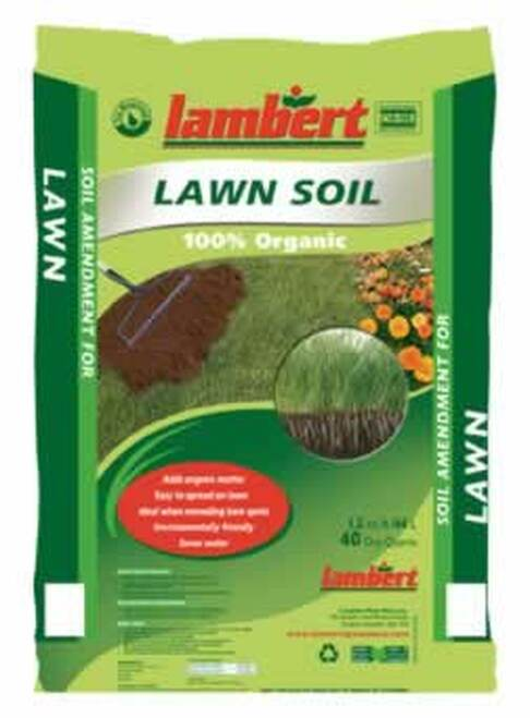 Lambert Organic Lawn Soil 1.5 Cu. Ft.