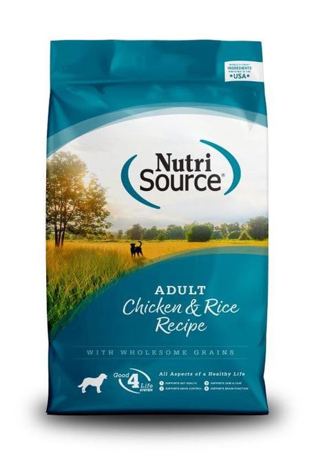 NutriSource Chicken & Rice Adult Dog Food