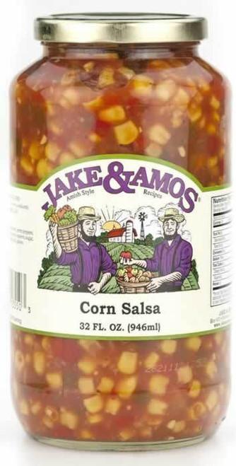 Jake and Amos Corn Salsa 32 Ounces