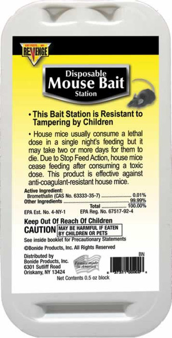 Revenge Disposable Mouse Bait Station