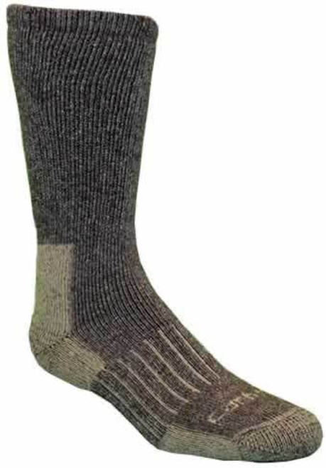 Carhartt Men's Full Cushioned Recycled Wool Charcoal Heather Crew Sock