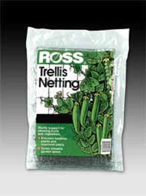 Ross Black Trellis Netting 6 Feet x 18 Feet
