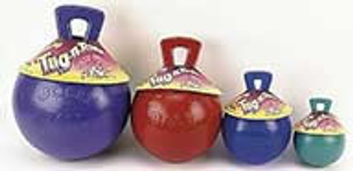 Tug-N-Toss Red, 6 Inch Jolly Ball