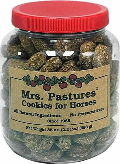 Mrs. Pastures Cookies Horse Treats, 32 Oz. Cookie Jar