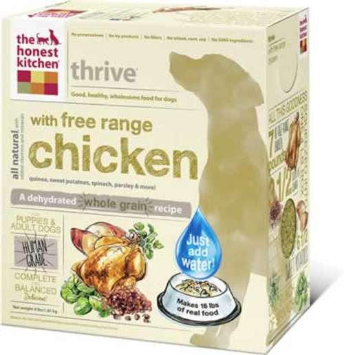 Honest Kitchen Thrive Gluten Free Dehydrated Dog Food