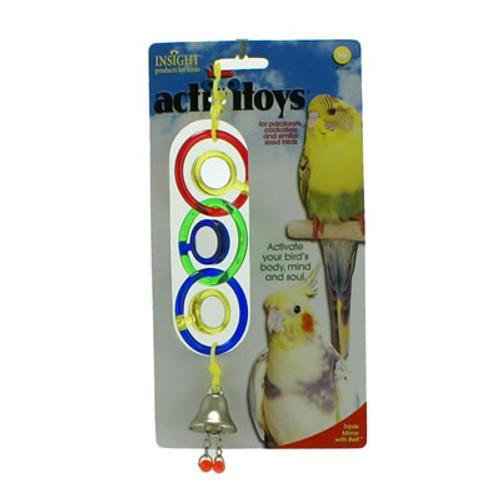 Triple Mirror Bird Toy