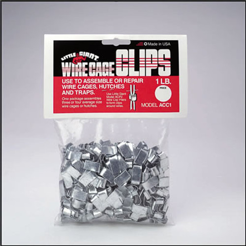 Wire Cage Clips, 1 Pound