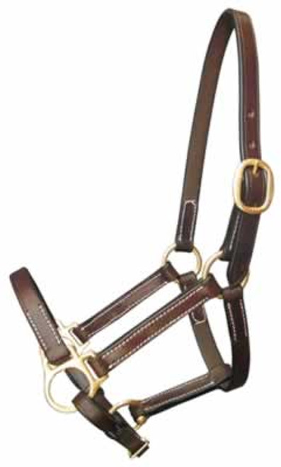 Gatsby Leather Halter, Weanling