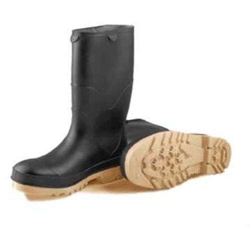 Tingley Kids' Stormtracks 100% Waterproof Black PVC Boot, Size 1