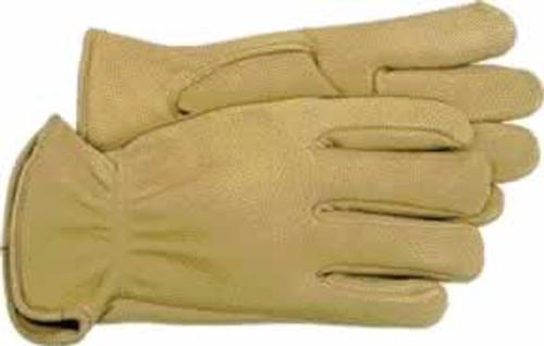 Boss Premium Grain Deerskin Leather Driver Glove, Medium