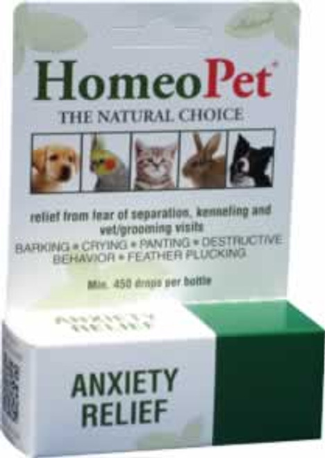 HomeoPet Anxiety Relief Natural Medication for Pets 15 mL
