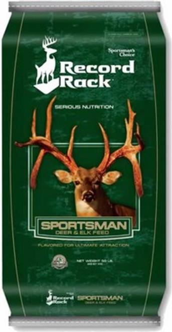 Sportsmans Choice Record Rack Sportsman Deer & Elk Feed 50 Pounds