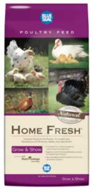 Blue Seal Home Fresh Grow & Show Pellets Chicken Feed 50 Pounds