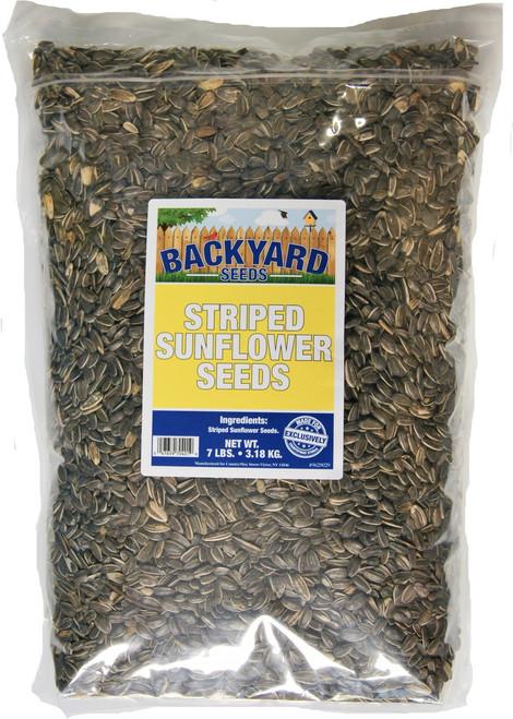 Backyard Seeds Striped Sunflower