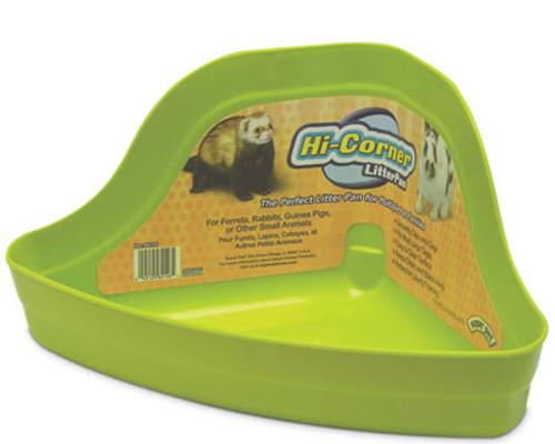 Ferret and Rabbit Hi Corner Litter Pan