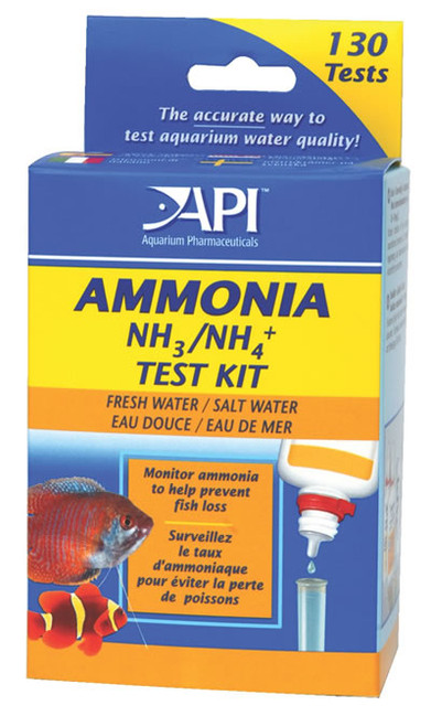 Ammonia Water Test Kit For Fresh & Salt Water Aquariums