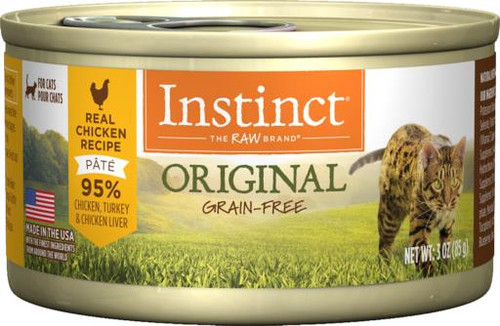 Nature's Variety Grain-Free Instinct Chicken Canned Cat Food