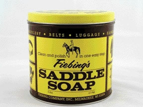 Fiebing's Yellow Saddle Soap, 5 Pound