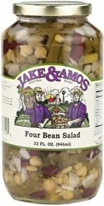 Jake and Amos Four Bean Salad 32 Ounces