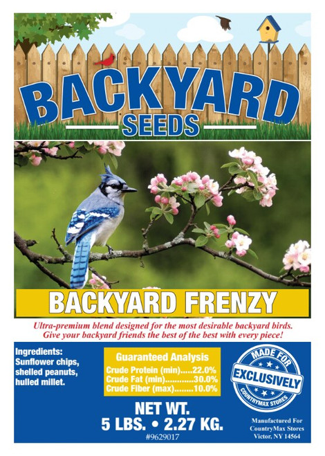 Backyard Seeds Backyard Frenzy Bird Seed Blend