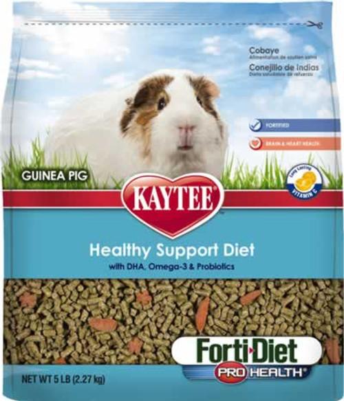 Kaytee Forti-Diet Pro Health Guinea Pig Food, 5 Pound