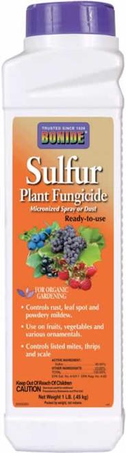 Bonide Sulfur Plant Fungicide Dust 1 Pound