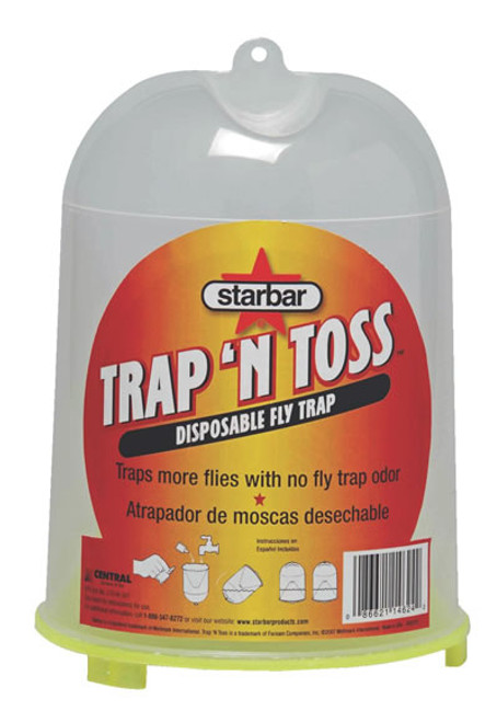 Trap-N-Toss Fly Trap