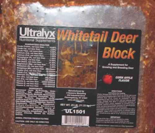 Ultralyx Wildlife Block, 25 lb