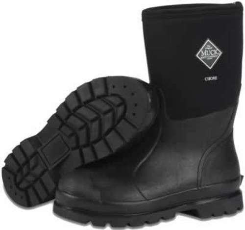 Muck Boots Chore Boot Mid All-Condition Work Boot Men's 11/Women's 12