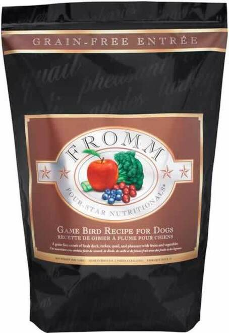 Fromm Four Star Game Bird Grain Free Dog Food