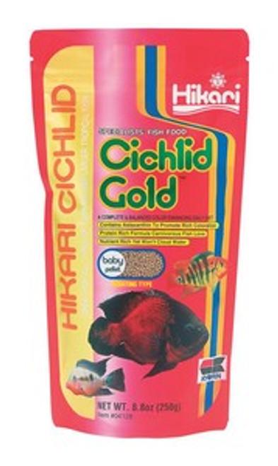 Hikari Cichlid Gold Baby, 8.8 Ounce