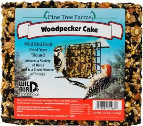 Pine Tree Farms Woodpecker Seed Cake