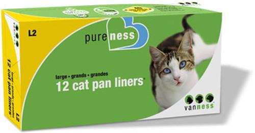 Cat Pan Liners, 12 Pack
