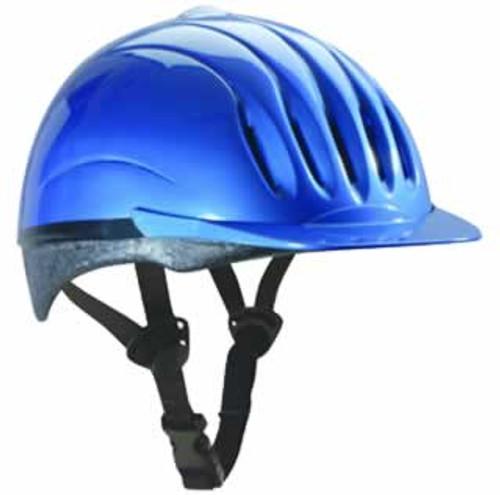 Equi-Lite Fashion Helmet Blue Medium