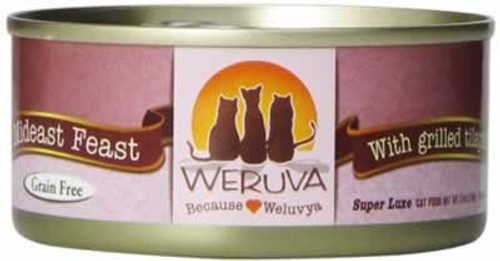 Weruva Mideast Feast Grain Free Canned Cat Food 5.5 Ounces