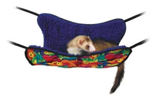 Plush Ferret Hammock With Liner