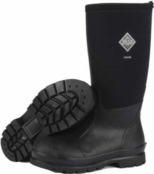 Muck Boots Chore Hi All-Conditions Work Boot, Men's 12/Women's 13